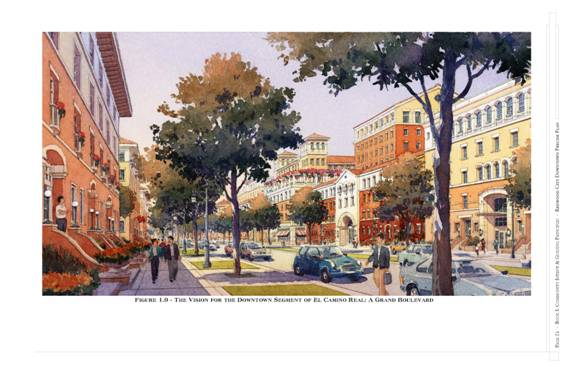 Redwood City's Downtown Precise Plan